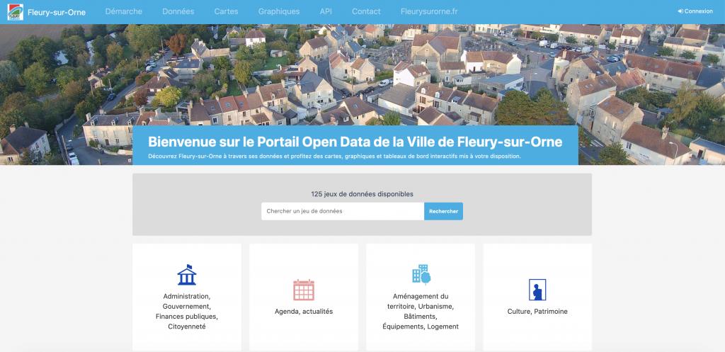 Le portail Open data de la Ville de Fleury-sur-Orne - Opendatasoft